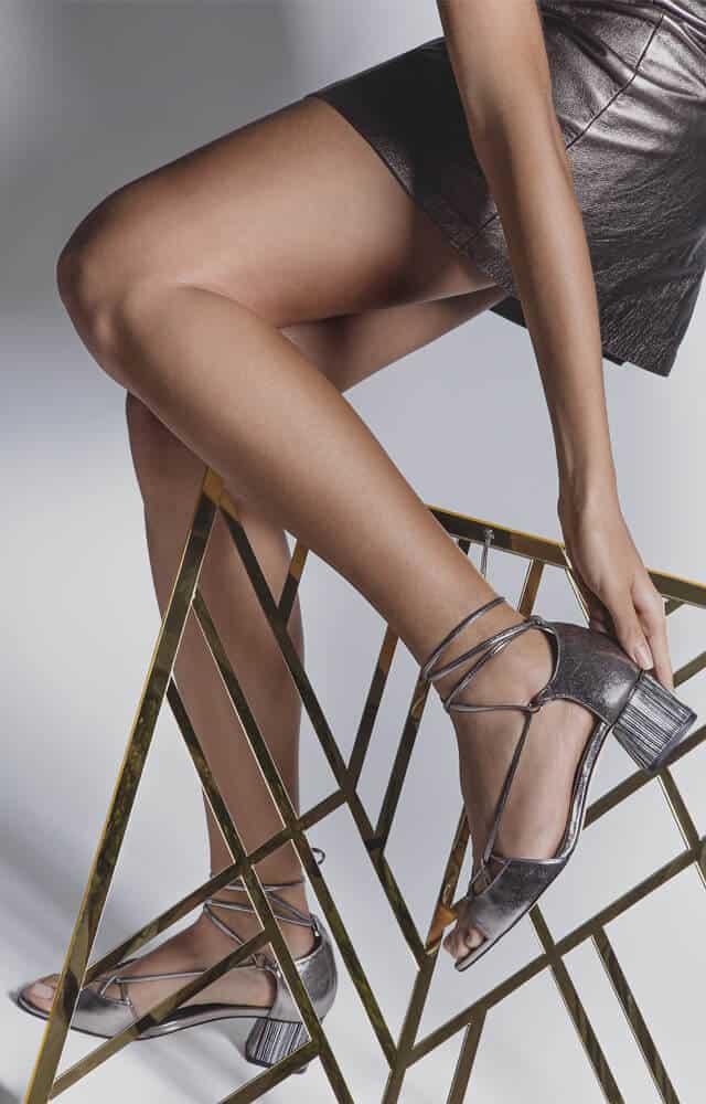sapatos para usar com vestido curto