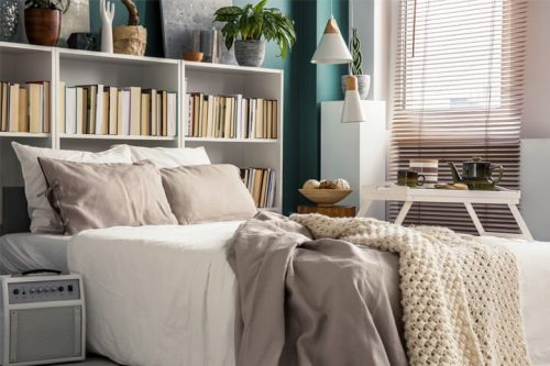 Saiba como organizar um quarto pequeno!