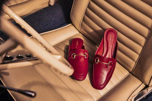 Como escolher a cor de sapato para usar com vestido vermelho?